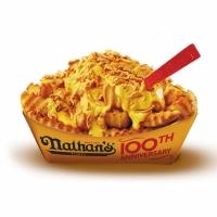 Картофель Нейтан`c с сырным соусом и хрустящим луком 163 г.